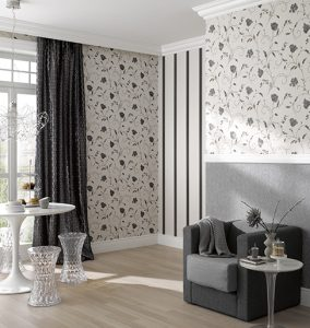 tout sur les jardins la tendance du papier peint intiss. Black Bedroom Furniture Sets. Home Design Ideas