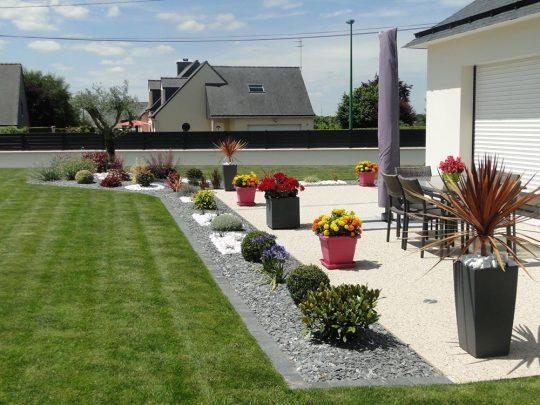 Tout sur les jardins for Modele amenagement jardin