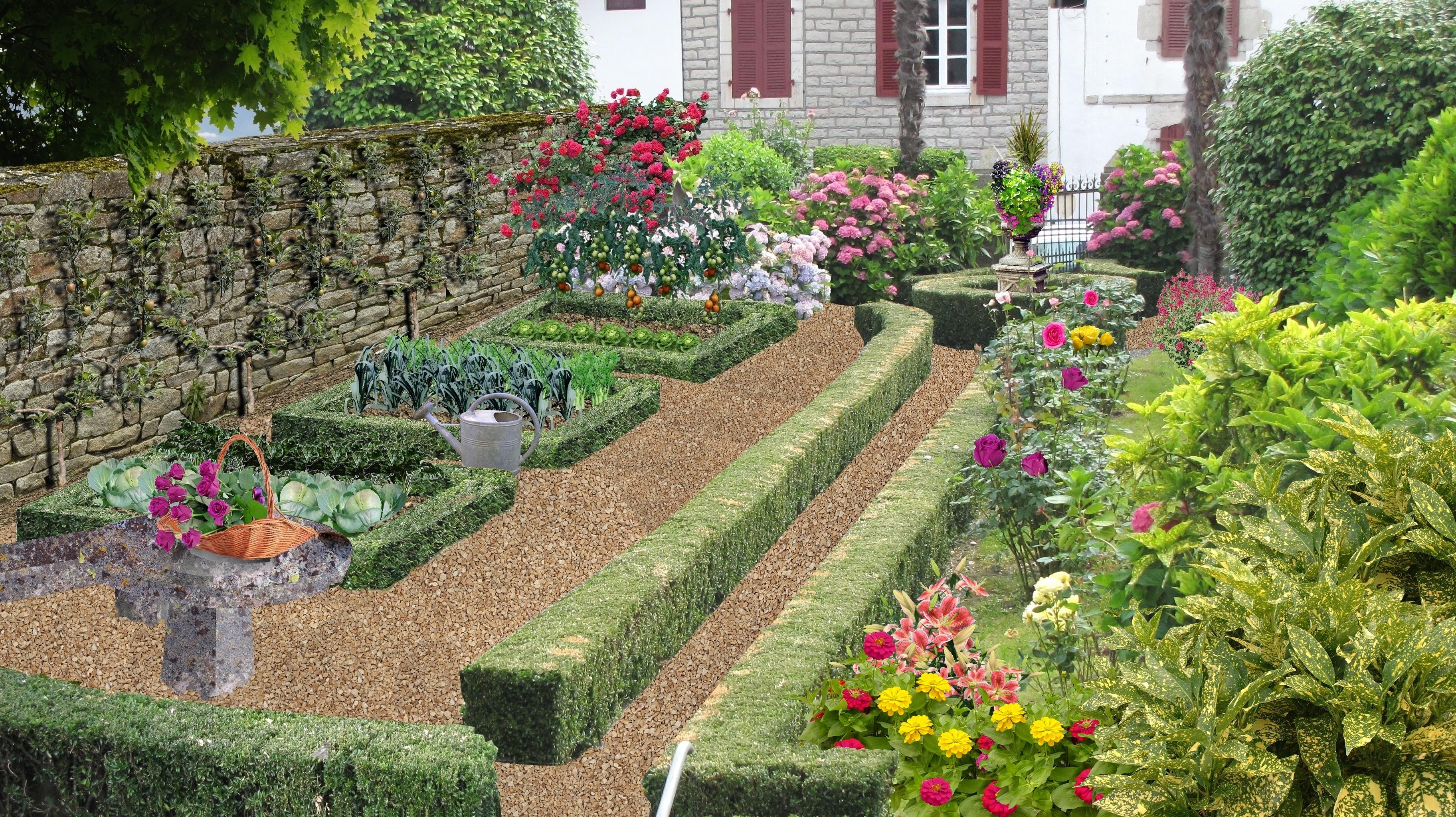 Tout sur les jardins le jardin quand la v g tation - Exemple d amenagement de jardin ...